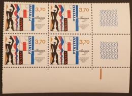 N° 2470 Neuf ** Gomme D'Origine En Bloc De 4  TTB - France