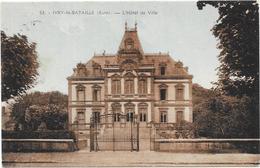IVRY LA BATAILLE: L'HOTEL DE VILLE - Ivry-la-Bataille