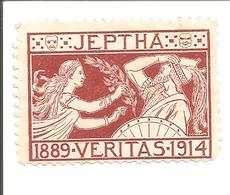 JEPTHA 1889-1914 Joost V.d. Vondel - Oude Documenten