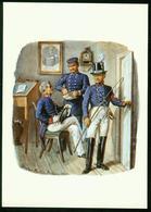Ax Postilion, Postal Clerks, Hessen Kassel 1850, Uniforms - Post