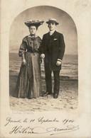 Ostende - Le Bon - Aan Zee - Carte Photo - 1904 - Oostende