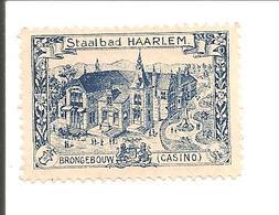 Haarlem. Staalbad-Brongebouw-Casino - Oude Documenten