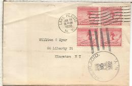 ESTADOS UNIDOS USA 1932 JUEGOS OLIMPICOS DE INVIERNO LAKE PLACID WINTER GAMES - Winter 1932: Lake Placid