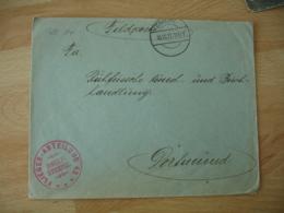 Ww 1   Flieger Abtellung 42 Deutsche Luftwaffe Armee Air Allemande Franchise Postale Feldpost - Militaria