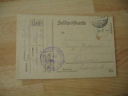 Ww 1   Flieger Abtellung 40 Deutsche Luftwaffe Armee Air Allemande Franchise Postale Feldpost - Militaria