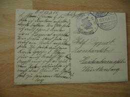Ww 1    Flieger Abtellung 44  Deutsche Luftwaffe Armee Air Allemande Franchise Postale Feldpost - Militaria