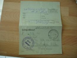 Ww 1feldflieger Abteilung 70  Deutsche Luftwaffe Armee Air Allemande Franchise Postale Feldpost - Militaria