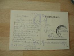 Ww 1 Flieger Abteilung 59  Deutsche Luftwaffe Armee Air Allemande Franchise Postale Feldpost - Militaria