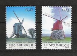 Zegels 3091 - 3092 ** Postfris - Belgien