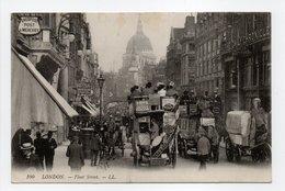- CPA LONDON (Angleterre) - Fleet Street (belle Animation) - Editions Lévy 100 - - Otros