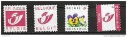 Zegels 3180 - 3183 ** Postfris - Belgien