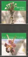 2000 Croatia. Local Flora / Booklets Set ** - Croatia