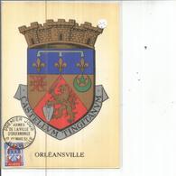 ARMOIRIES D ORLEANSVILLE - Algérie