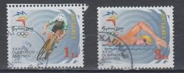 Lithuania 2000 Mi 735-6  Used Sydney Olympic - Lithuania