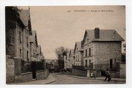 - CPA PONTOISE (95) - Avenue De Maison-Rouge (avec Personnages) - Photo Neurdein 446 - - Pontoise