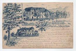 - CPA Gruss Aus Dem MÜHLTHAL (Mühltal / Allemagne) - Restauration & Luftkurort Zum Schweizerhaus 1894 - Verlag MULLER - - Darmstadt