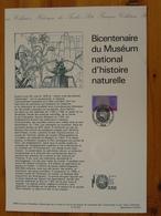 Document Officiel FDC 93-522 Histoire Naturelle Natural History 1993 - Préhistoire