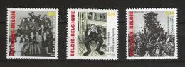 Zegels 3392 - 3394 ** Postfris - Belgien