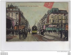 MARSEILLE - La Rue Cannebière - Très Bon état - Canebière, Centre Ville