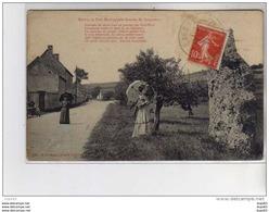 Menhir De Port Mort Appelé Gravier De Gargantua - Très Bon état - Frankreich