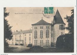 52 REYNAL LE CHATEAU COUR D HONNEUR CPA BON ETAT - France