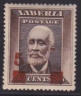 Liberia 1915-16 Sc 140 Mint Hinged - Liberia