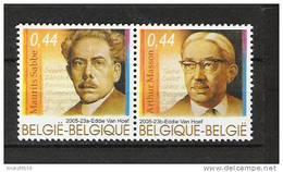 Zegels 3464 - 3465 ** Postfris - Belgique