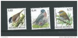 Zegels 3389 - 3391 ** Postfris - Belgien