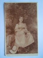 Achille Fould Mounette (Salon De Paris) Jeune Femme Jonge Vrouw Reclame Pub Margarine Brunita - Peintures & Tableaux