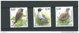 Zegels 3379 - 3381 ** Postfris - Belgien