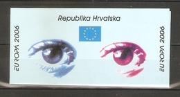 "2006 Croatia. Europa CEPT ""Intergration"" / Booklet ** - Croatia"