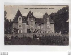 Château D'Aigueperse Par SAINT PAUL D'EYJEAUX - Très Bon état - Autres Communes