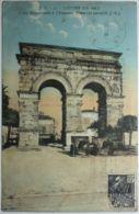 SAINTES L'Arc Romain Dédié à L'Empereur Tibère - Saintes
