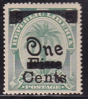 Liberia 1903 Ovpt Sc 90d Mint Hinged - Liberia