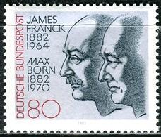 BRD - Mi 1147 - ** Postfrisch (B) - 80Pf  J.Franck Und Max Born - [7] Repubblica Federale
