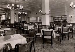 ! 1958 Ansichtskarte Cuxhaven, Cafe Schleyer - Cuxhaven