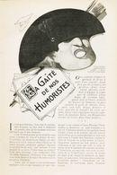 A Gaite De Nos Humoristes /  Article,  Pris D`un Magazine / 1910/1911 - Boeken, Tijdschriften, Stripverhalen