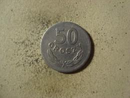 MONNAIE POLOGNE 50 GROSZY 1965 - Polonia