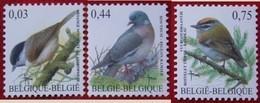 Bird Vogel Oiseau Pajaro Buzin OBC N° 3389-3391 (Mi 3434-3436) 2005 POSTFRIS MNH ** BELGIE BELGIEN / BELGIUM - Belgien