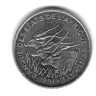 Etats De L'Afrique Centrale. 50 Francs 1991 Lettre A (Tchad) - (1296) - Tsjaad