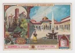 AC459 - CHROMO LIEBIG - L'Alhambra - La Cour Des Lions - Liebig