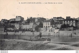 SAINT JUST SUR LOIRE - Les Bords De La Loire - Très Bon état - Saint Just Saint Rambert