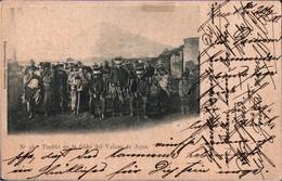 ! 1900 Alte Ansichtskarte Guatemala, Pueblo En La Faldo Del Valcan De Agua, Hamburg, Bird Stamps - Guatemala