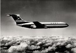 ! 1966 Ansichtskarte Düsenflugzeug BOAC, Jetliner, Leeds - 1946-....: Ere Moderne