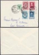 BELGIQUE COB PRIVE 119/120 SUR LETTRE COMPLAISANCE DE JUMET VERS MARCINELLE (DD) DC-6412 - Commemorative Labels