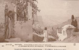 *** ART *** Peinture - Salon De Paris  1913 MONTENARD Rencontre Du Christ Et De Ste Madeleine - Neuve TTB - Peintures & Tableaux