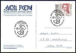 CROSSBOW - ITALIA SANSEPOLCRO (AR) 2003 - PALIO DELLA BALESTRA - POSTCARD - Tiro Con L'Arco