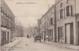 HAUTE MARNE -  EURVILLE - La Grande Rue  ( - Timbre à Date De 1922 - Petite Animation ) - France