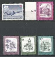 TP D'AUTRICHE N°  1242 + 1259/62  NEUFS SANS CHARNIERE - 1945-.... 2ème République