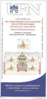 VATICANO - Brochure 2016 Bollettino UFN - 350° Elezione Vergine Patrona Lussemburgo Emissione Congiunta Con Lussemburgo - Emissioni Congiunte